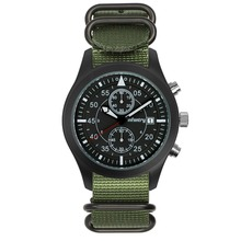 INFANTRY Aviation Japanese Quartz Stainless Pilot Chronograph Watch