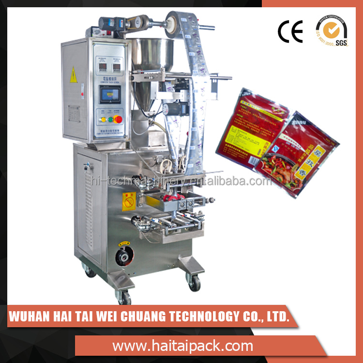 Latest products tomato sauce ketchup pouch packing machine for food, chemical, pharmaceutical