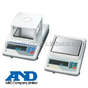 A&D company Limited Genuine Weighing Precision Balances The World's Most User-Friendly Balance