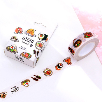 Original design sushi printed wholesale Japanese custom make washi tape