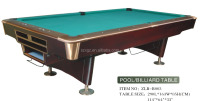 high quality real marble indoor snooker table game for sale