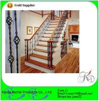 wrought iron portable stair railings for staircase