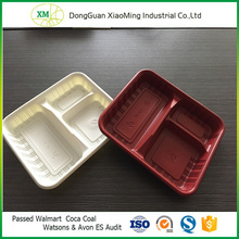 PP plastic food container blister tray