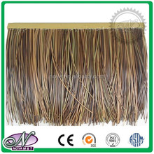 High quality rod tree fiber simulation thatch roof tile