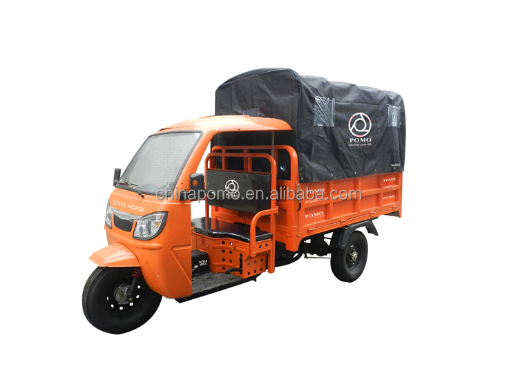 Excellent Performance Closed Cabin Motor Tricycle, Triciclo Per Adulti, Thailand Trike