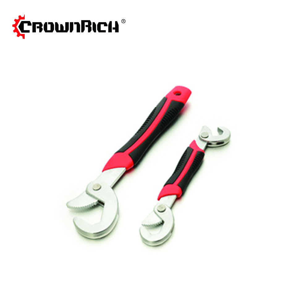 CROWNRICH Multi-Function 2pcs Universal Wrench Adjustable Grip Wrench set