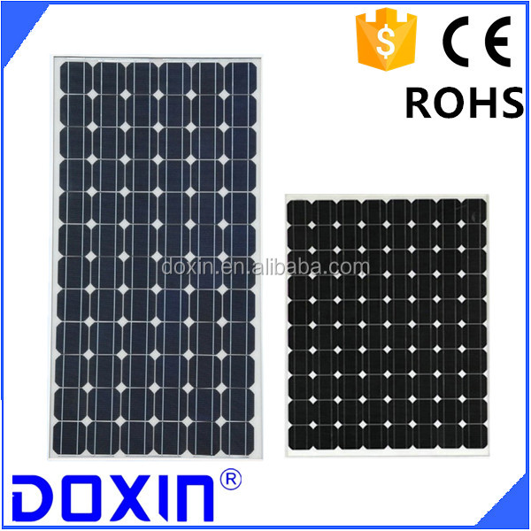 solar panel 250w DOXIN solar panel manufacturers in china mono crystal line solar panel