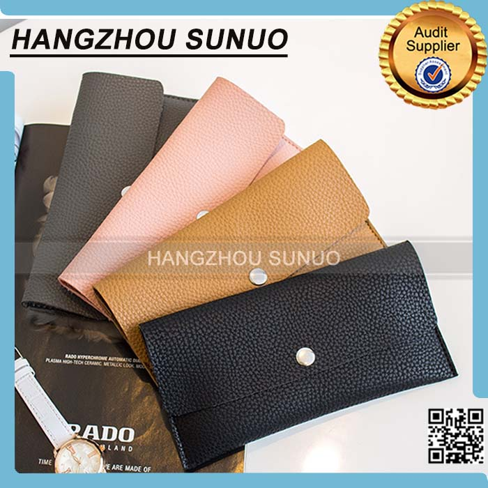 Fashion Elegant Pu Leather Latest Design Ladies Purse