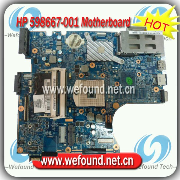598667-001,Laptop Motherboard for HP 4520s 4720s Series ,Mainboard,System Board