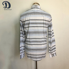 Wholesale hot new products stripe mens casual shirts