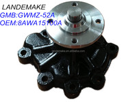 Auto engine water pump OEM:8AWA15100A GMB:GWMZ-52A used for Mazda/water pump parts/ water pump