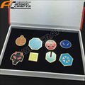 Pokemon GEN 2 Lapel pin Johto League Gym Badges - For Sale BOX PACKED