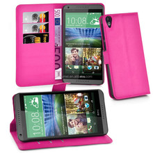 Wallet Book Style PU Leather Flip Case Cover For HTC Desire 820 cover, for htc mobile phone