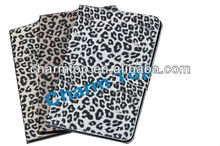 100% Brand New Leopard Leather Flip Case For iPad Mini