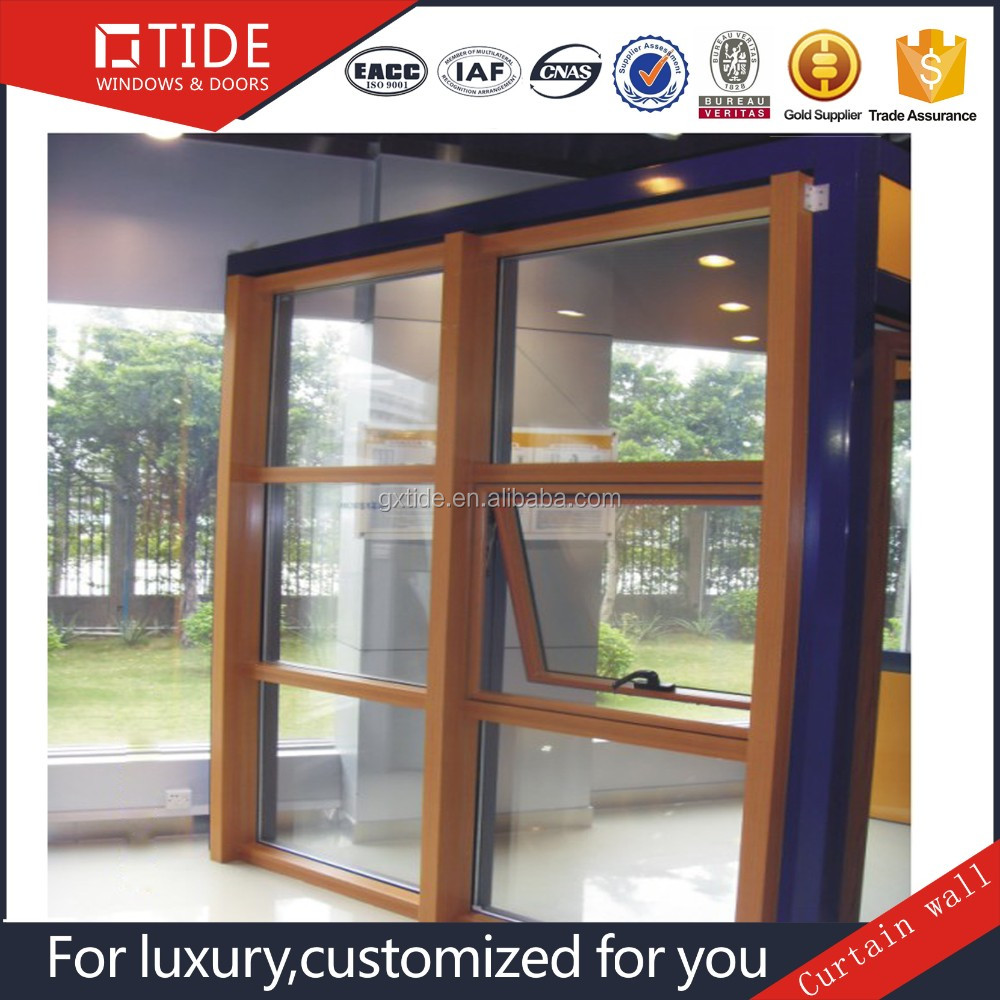 Customized hand crank casement window