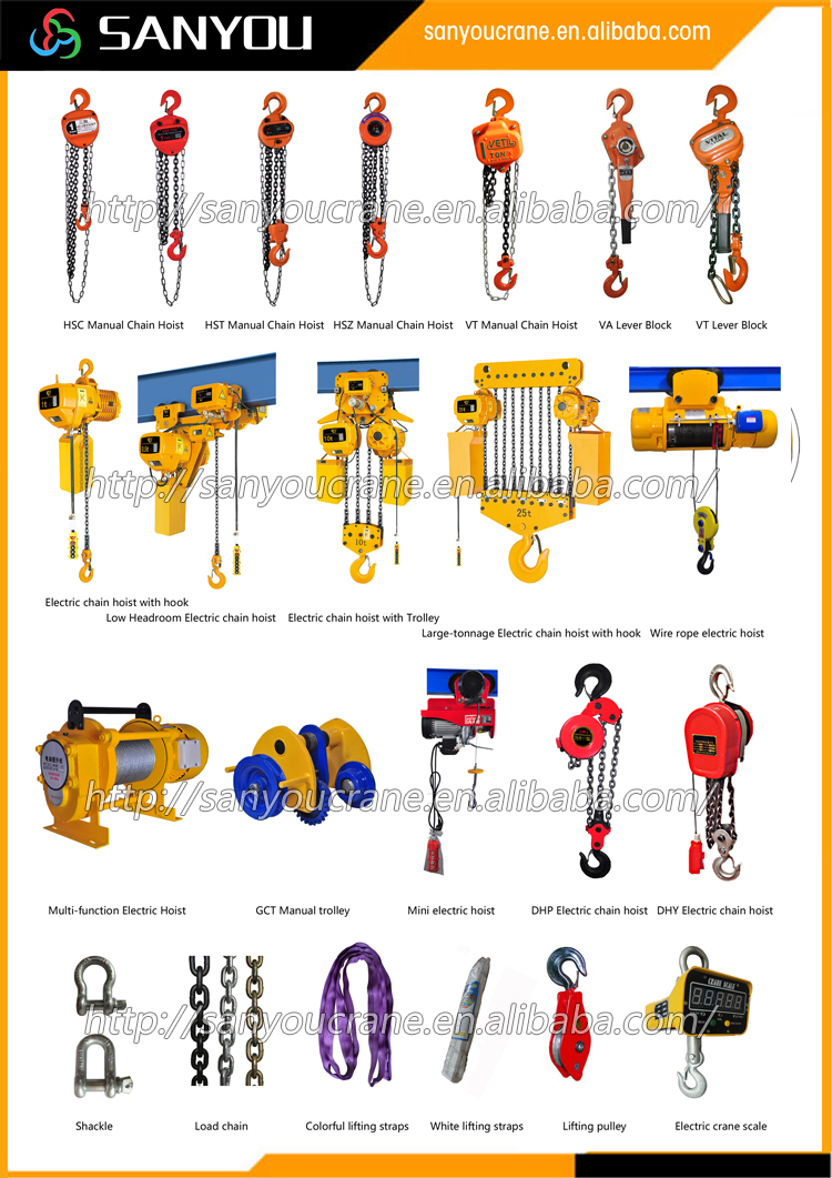 Chain Block Hsz Type Hoist Pulley System Buy Chain Block