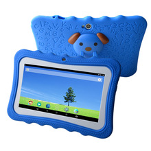 High quality in stock Allwinner 7 inch android 4.4 kids tablet