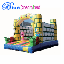 Cheap commercial cartoon big inflatable bouncer wholesale