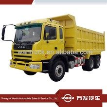JAC 6x4 380hp heavy loading tipping truck dump truck for sale in dubai