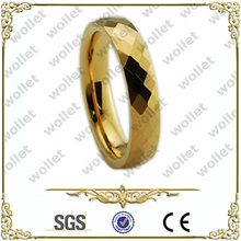 2014 hot sale tungsten fashion wedding ring gold bohemian jewelry