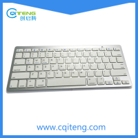 New Layout 78 Keys Silver Painting Bluetooth Wirelesss Keyboard