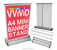 hot sale advertising banner stand/flag pole/promotion counter/picture frame