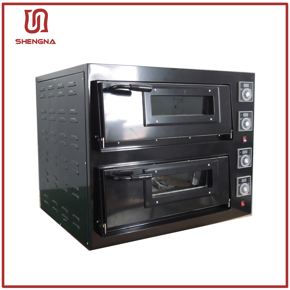 2 Deck Brick Gas Pizza Oven With Good Quality