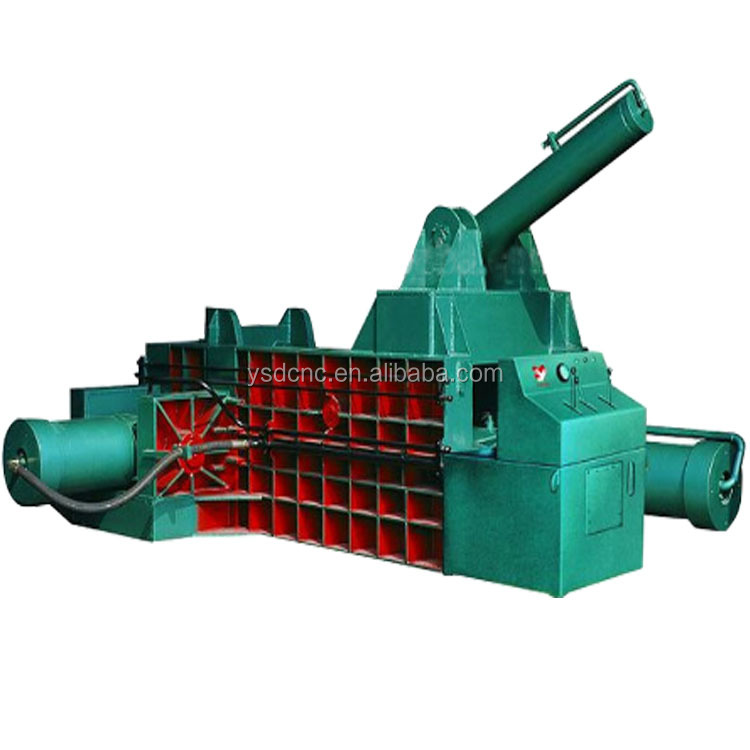 ysdcnc brand recycled scrap bottles and car,plastic baler machine Y81-250A scrap tire baler machine
