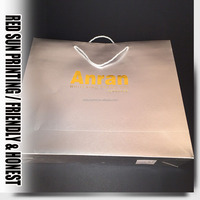 Promotion printing paper shopper bag