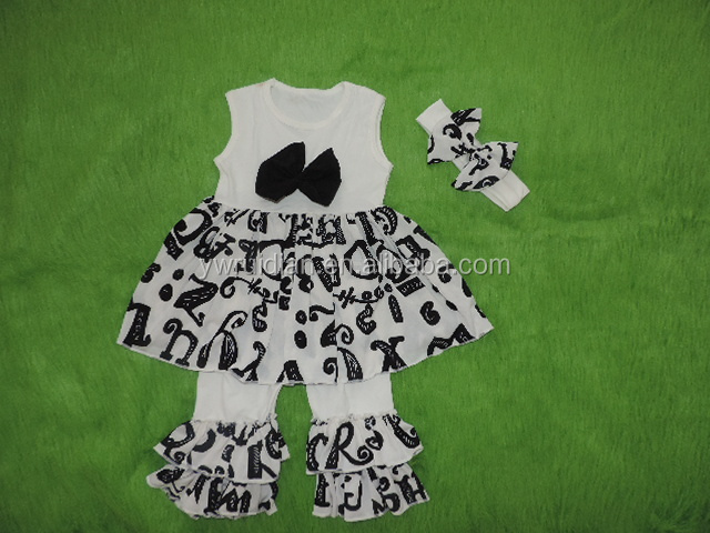 special occasion girls clothing sets bowknot dress gauze ruffle clothes childrens summer sets