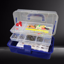 Factory Price Hot Sale 300PC Complete Fishing Tackle Kit With multi-layer box