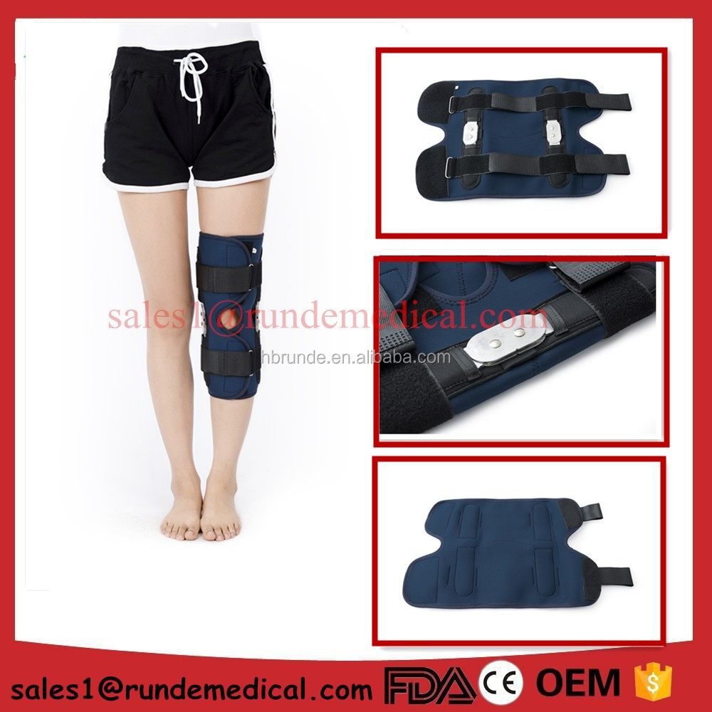 FDA approved waterproof neoprene knee support hinged knee brace