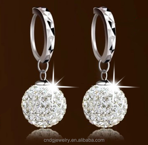 Made in China Design Cheap Crystal Drop Earring Beautiful Earring for Women