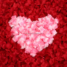 Rose petal non woven fabric rose petals for wedding
