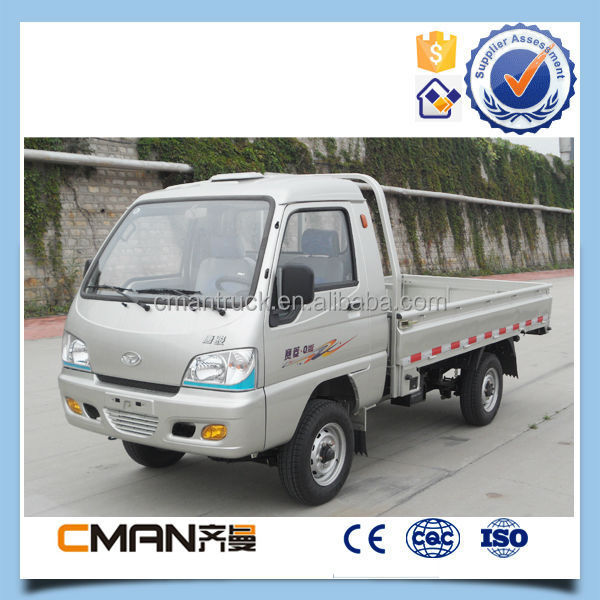 China small widely used 2ton 4x2 single cabin light duty cargo truck hot sale in Africa