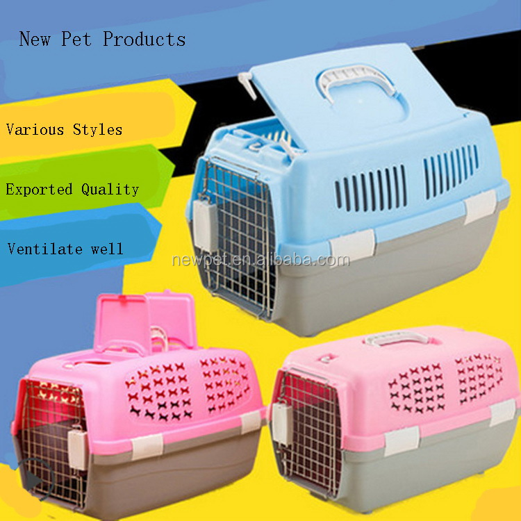 2016 customized new arrival airport approved pet dog flightcase large basket carrier pet bag