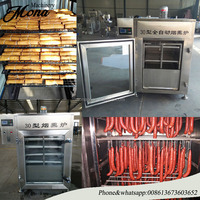 008613673603652 2018 automatic stainless steel sausage/duck/chicken/bacon etc meat smoking machine