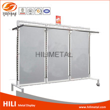 Double sided OEM design baby shop garment display rack