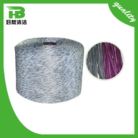 Factory supplying spun yarn cotton for mops, mop raw materials