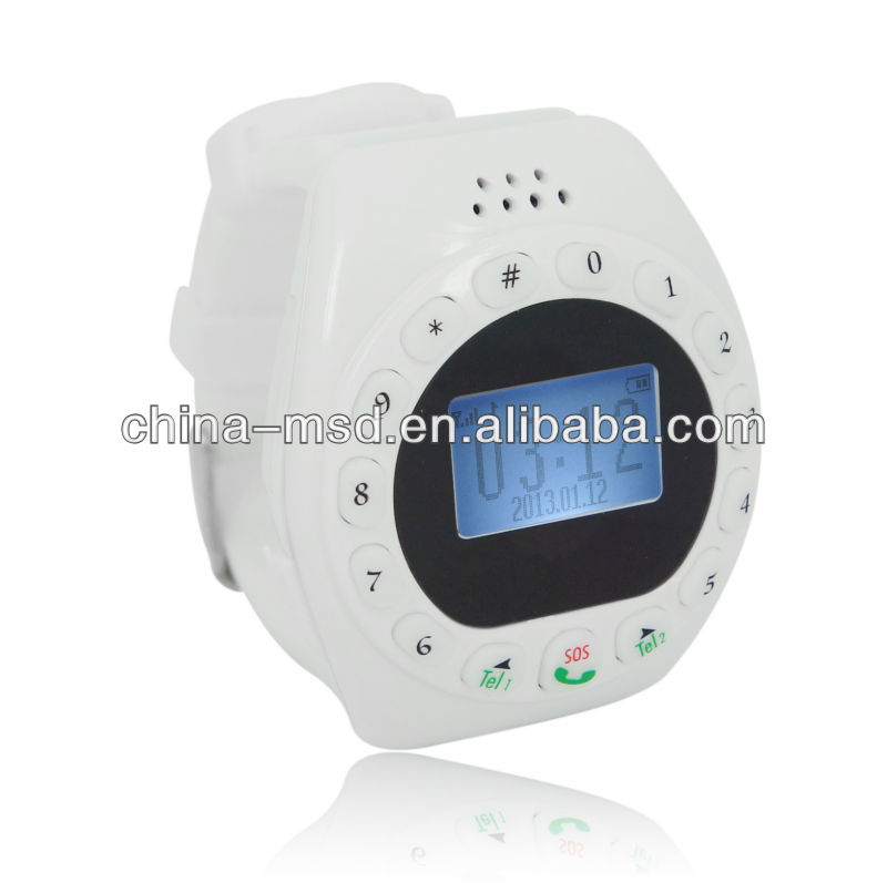 Small Kids Watch SOS Phone With GSM Quadband