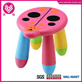 Direct factory!Durable colorful school kid like plastic stool