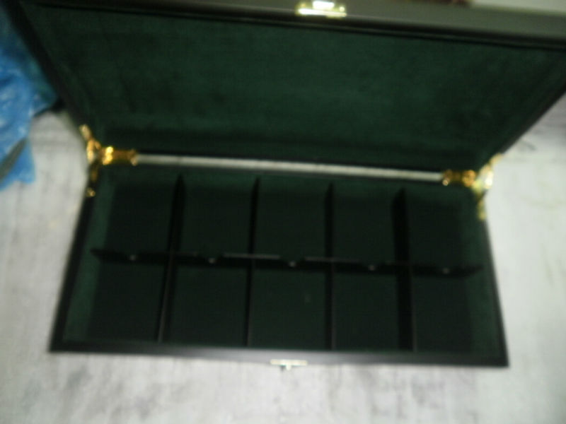 10 Comartment Wooden Tea Box