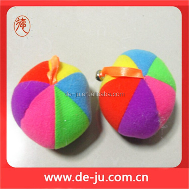 Colorful Watermelon Shaped Playing Plush Toy