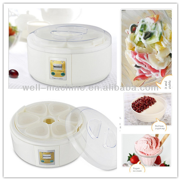 Home use DIY ice cream making machine