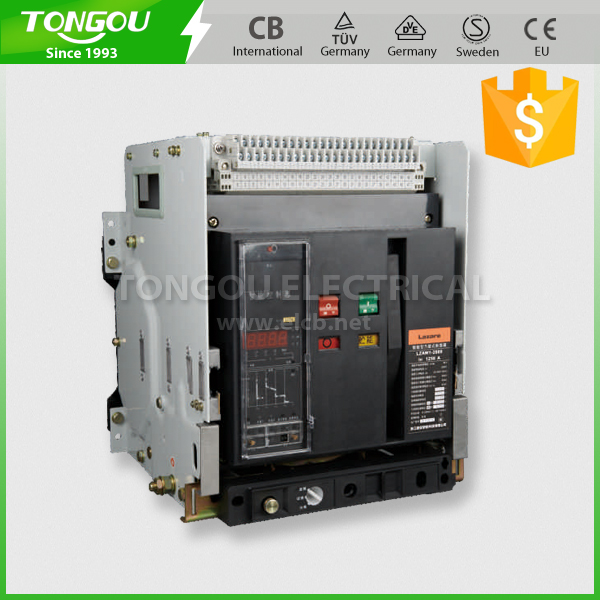 Intelligent DW45 Fixed Draw-out Type Air Circuit Breaker ACB 630A/1000A/1600A/2500A/3200A/5000A/6300A
