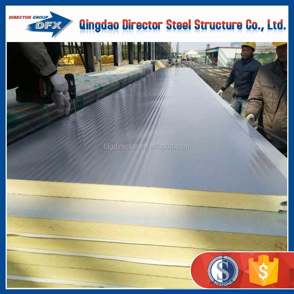 prefabricated garage Pu sandwich panel