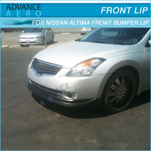 HIGH QUALITY FRONT BUMPER LIPS FOR 2007 2008 2009 NISSAN ALTIMA POLY URETHANE SPOILER BODY KITS