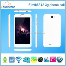 Android 4.2 MTK8312 dual core dual sim 6-inch android phone