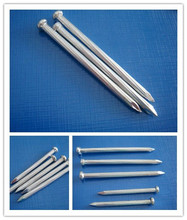 china supplier black/galvanized hardened steel concrete steel nails with cheap price