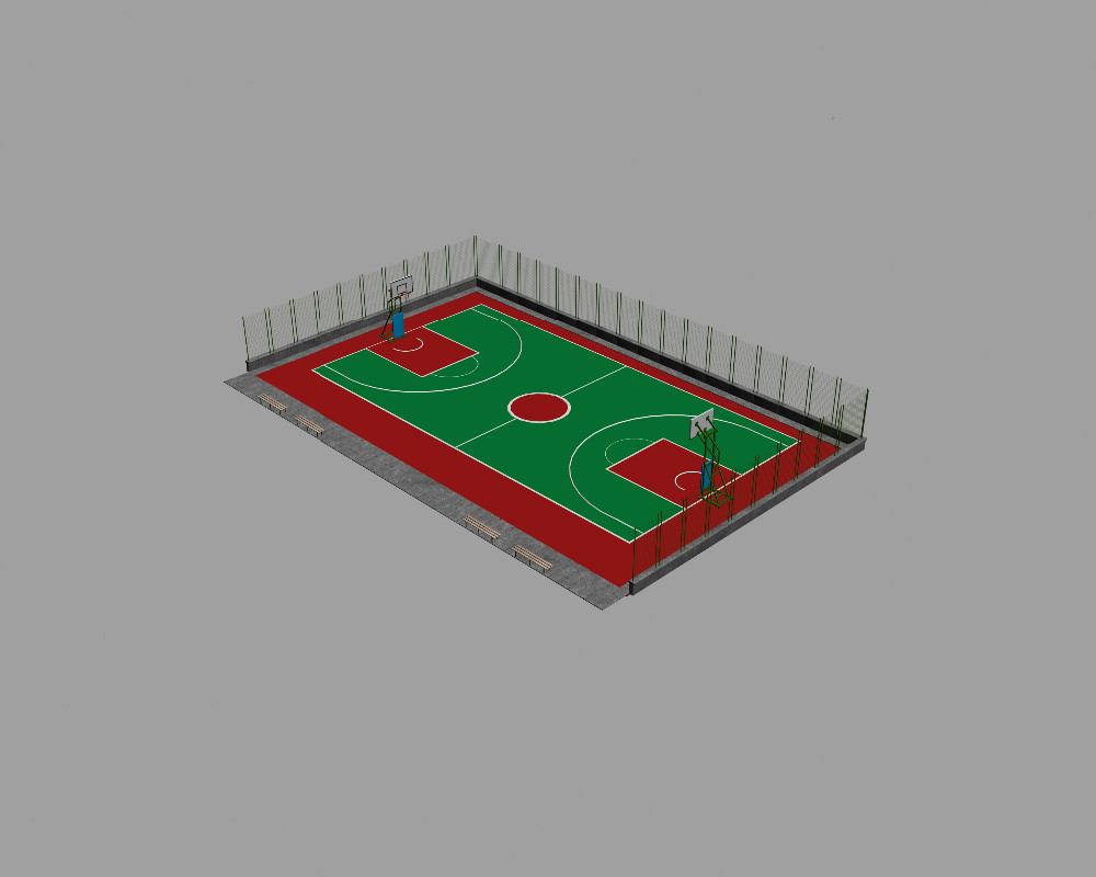 Plastic Flooring Type and Polypropylene Material High Quality basketball court floor tiles